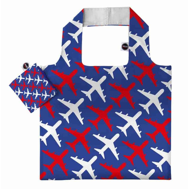 ANYBAGS shoppingkasse Airplanes