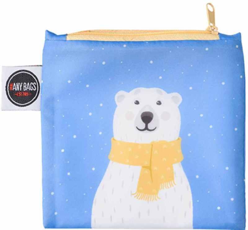 ANYBAGS shoppingkasse Polar Bear - förvaringspåse