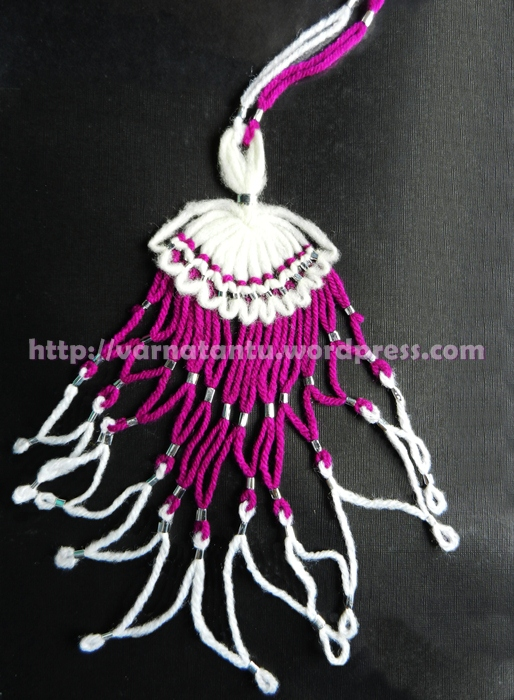 15T Fancy Thread Jewellery - Neck Piece/Pendant