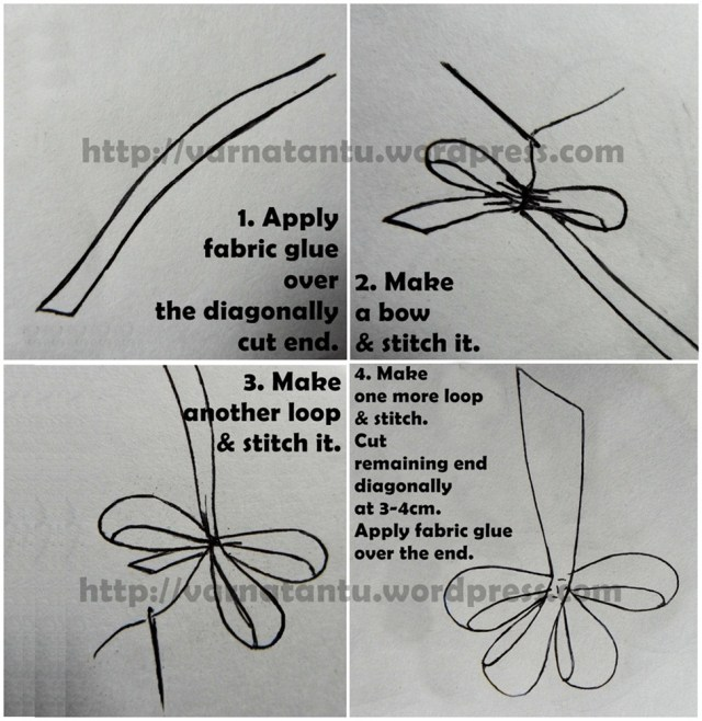 17T 1a DIY Ribbon Flower