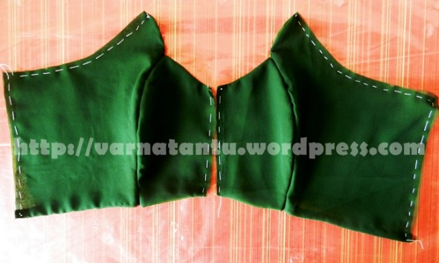 Princess Line Front Bodice - After Joining The Panels