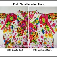 Kurta Shoulder Alterations - with Darts