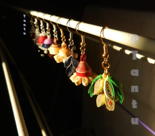Paper Quilling & Beaded Jewellery