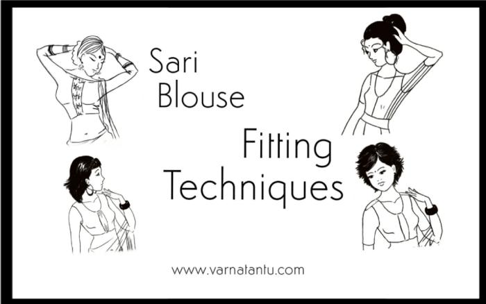 Sari Blouse Fitting Techniques