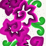 A Digital Floral Art by DeSi