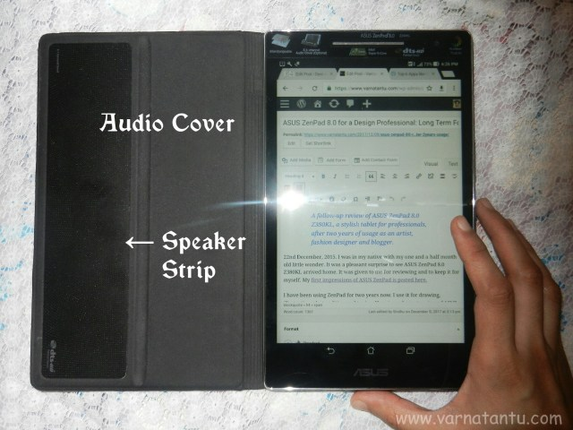 ASUS ZenPad 8.0 - Audio Cover