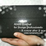 ASUS ZenPad 8.0 for Design Professionals - long term follow-up