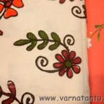 Hand Embroidered Bedspreads at Khadi Utsav