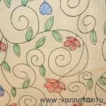 Hand Embroidered Bedspread at Khadi Utsav