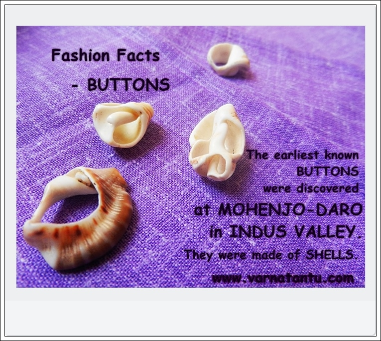 First Ever Buttons Known - Fashion Facts