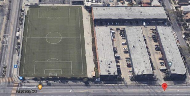 industrial lease south la 160-slauson-aerial-map