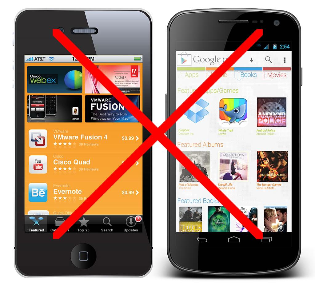No Smart Phones