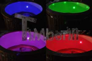LED hot tub