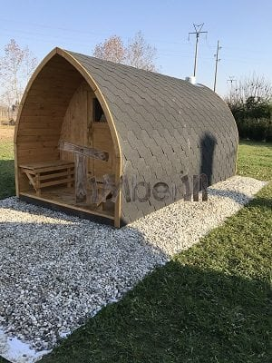 Sauna Giardino Igloo, Gatto Marco, Lancenigo TV, Italy Main