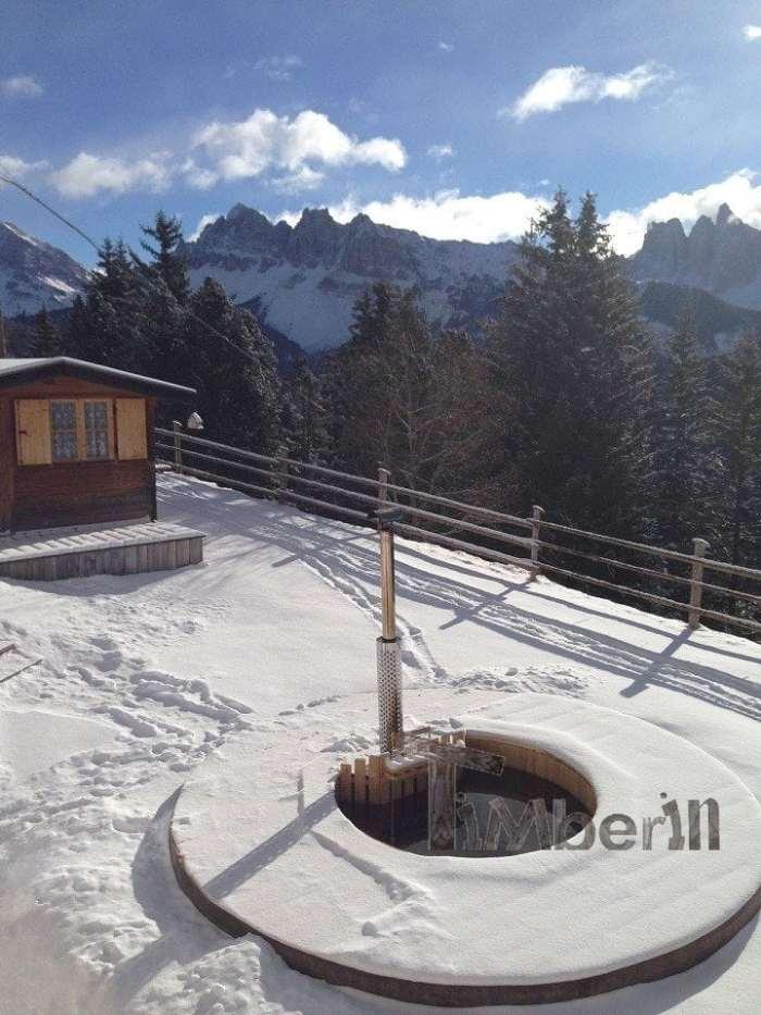 Vasca Tinozza In Legno Deluxe, Andreas, Hotel Aurora, Brixen (BZ), Italien (2)