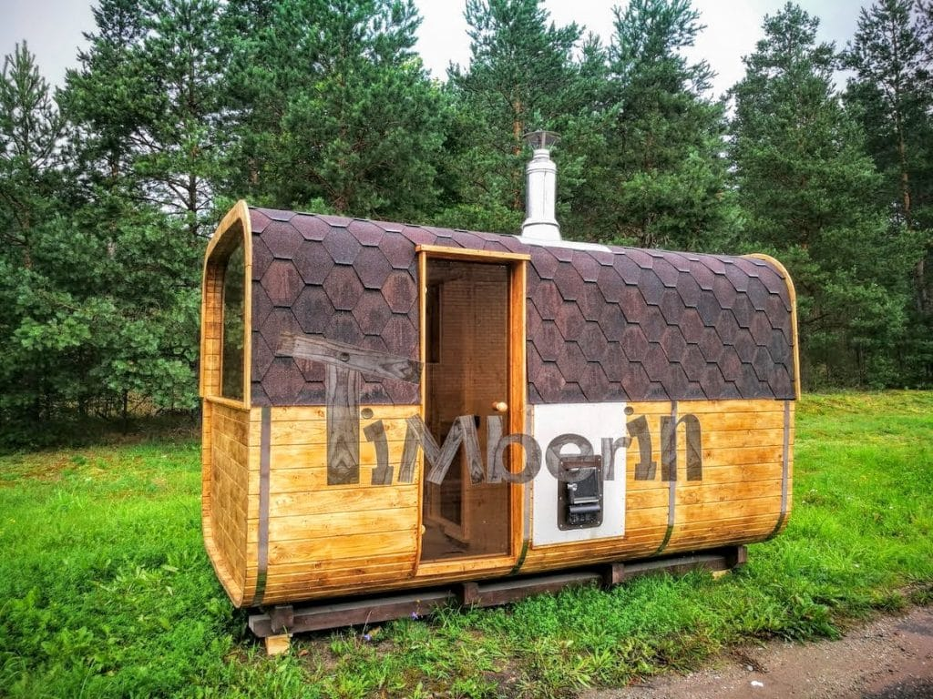 Sauna Da Esterno A Legna