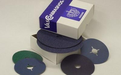 Discos fibra vulcanizada – zirconio