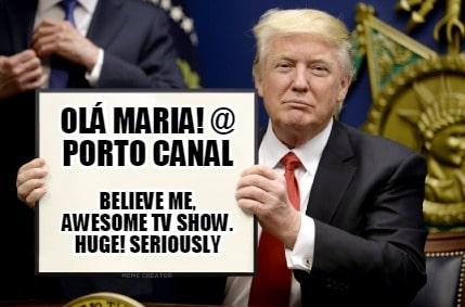 meme trump porto canal