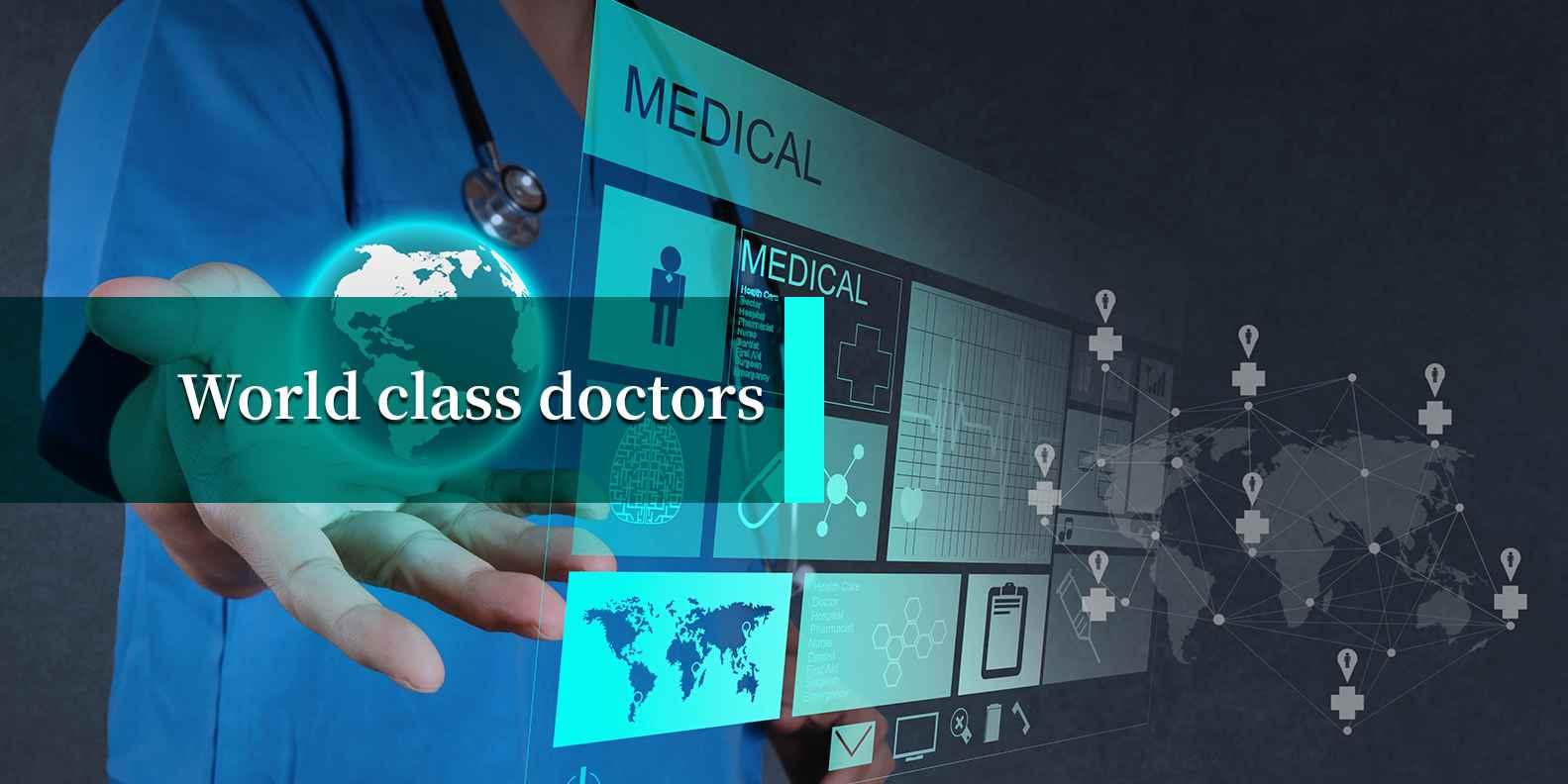 Word Class Vascular Surgeon