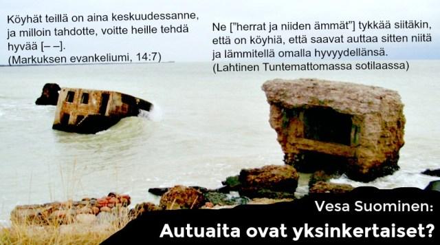 Vasen Kaista julkaisee Vesa Suomisen luokkasuhteiden muutoksia kapitalismin viimeisellä rannalla käsittelevän artikkelin kuudessa osassa. Tämä on toinen osa. (Kuva: Cai Melakoski)