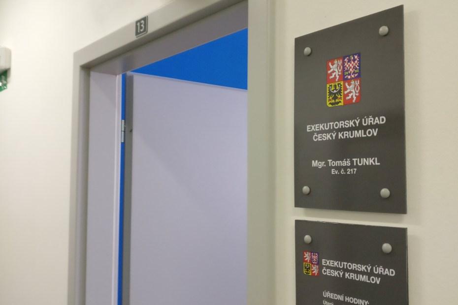 Označení kanceláře