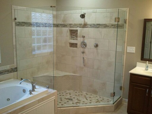Frameless Glass Shower Door Glen Allen Va.