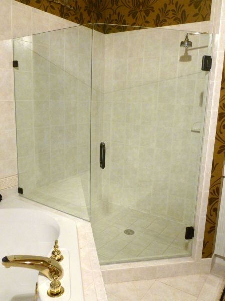Shower Door Replacement After Frameless Glass Wyndham Subdivision Glen Allen Va