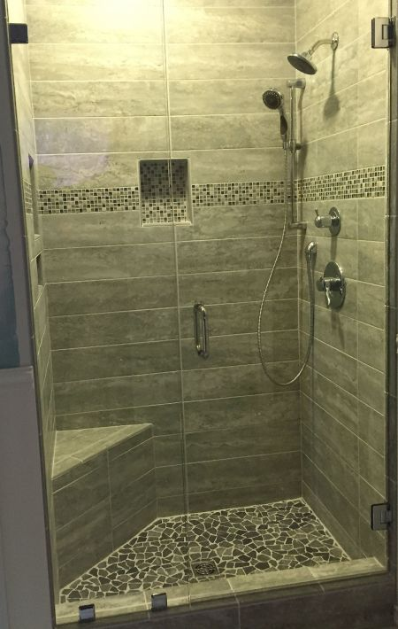 River Downs Bath Remodel Midlothian Va Virginia Shower Door LLC - Bathroom remodeling midlothian va