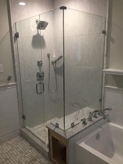 Corner Glass Shower Door Richmond Va Virginia Shower Door Llc