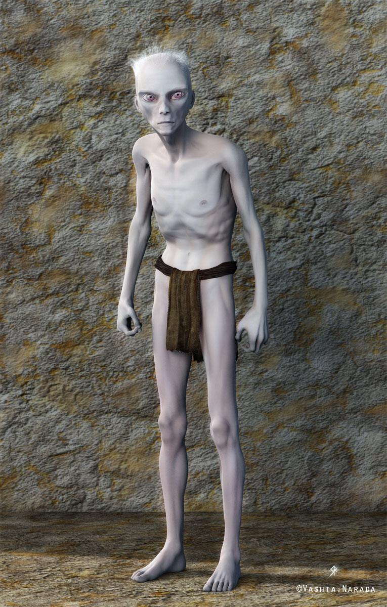 Subterranean humanoid