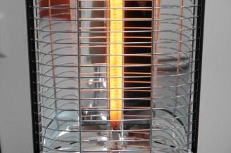 Infrarot Heizstrahler Standgerät VASNER Carbonröhre leuchtend Infrarot Standheizstrahler