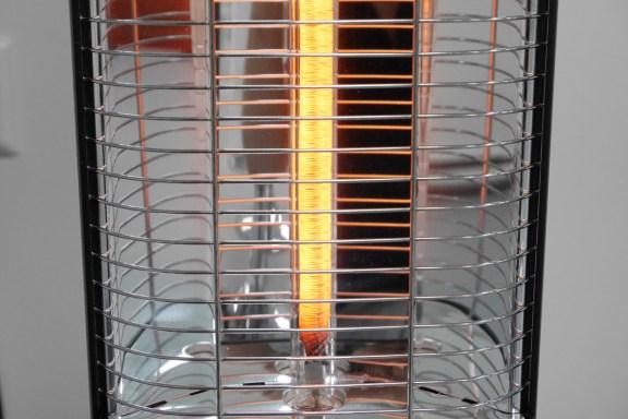 VASNER Teras Infrarot Heizstrahler Carbon-Röhre leuchtend