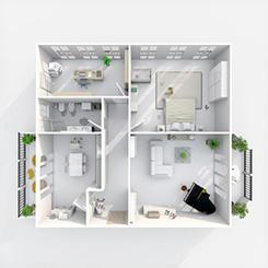 Kalkulation und Berechnung von Infrarotheizungen für Wohnräume. Sowie Heizkosten und Verbrauch. VASNER Kalkulator.
