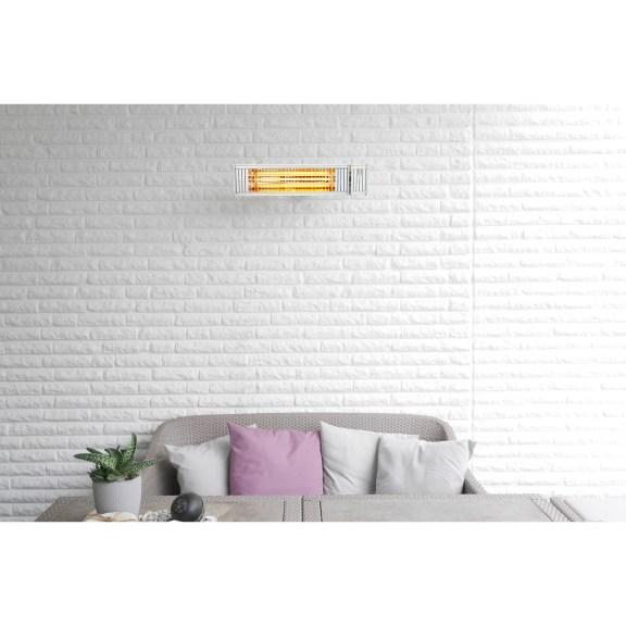 Hell- vs. Dunkelstrahler fester Wandstrahler für draußen und in geschlossenen Räumen