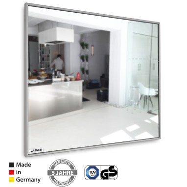 Der Infrarotheizung Spiegel kann auch mit einem Solarstromspeicher als Photovoltaik Heizung verwendet werden
