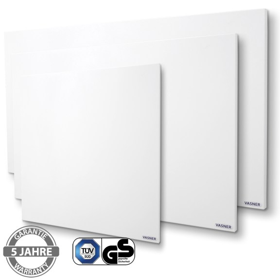 klassische Wärmewellenheizung für Wand und Decke