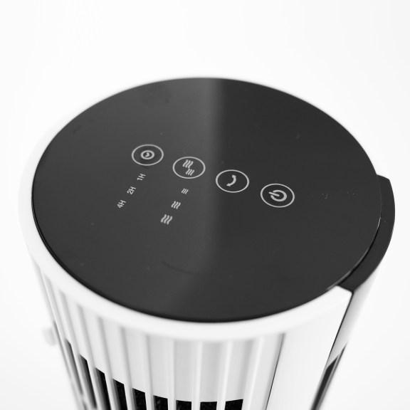 Der Säulenventilator mit praktischer Timer Funktion