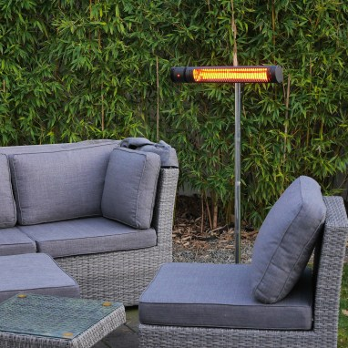 electric infrared heater for outdoors