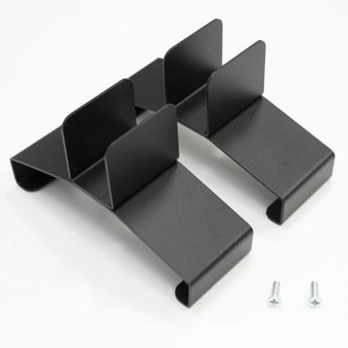 Standfüße für das Heizpaneel mit Thermostat in Schwarz und Weiß