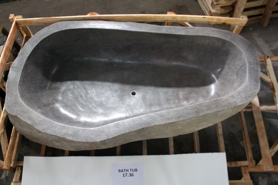 Baignoire En Pierre Naturelle Vasque Import