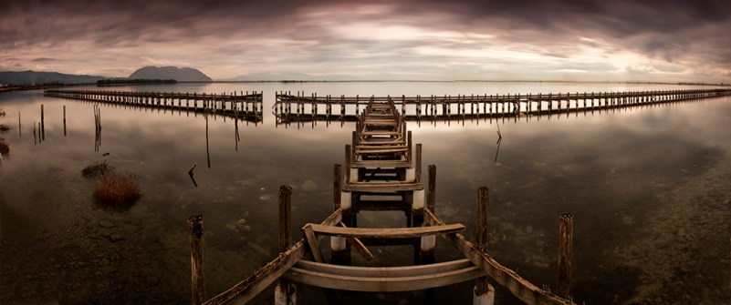 broken pier_II (Location: Lake Tourlida)