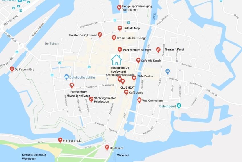 Locatie Arkelstraat Gorinchem