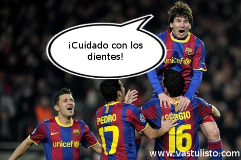 Messi celebración