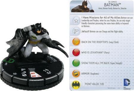 Aquí tenemos a Batman.