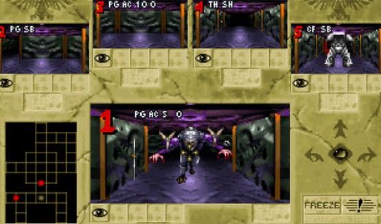 El juego antiguo, pixelado a lo grande.