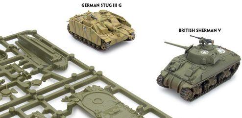 Dentro de la caja de inicio podemos encontrar tanques como estos.