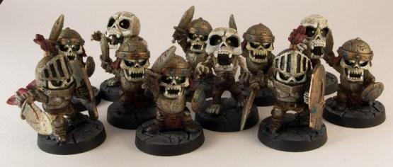 Esos esqueletos guapos.