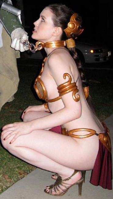 Eso quiusieras tú, que Leia se te arrodillara así
