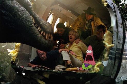 Patricio de nuevo en Jurassic Park