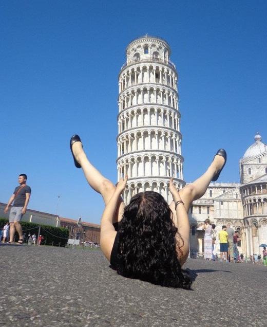 Algunas se follan a la torres de Pisa